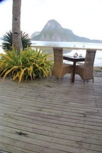 Morning View from Cadlao Resort